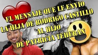 ELLA SERIA LA BELLA HERMANA DE EL HIJO DE PATRICIA TEHERAN