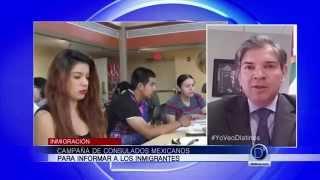 Información sobre el DACA y el DAPA con Francisco de la Lama, Consul Adjunto de México