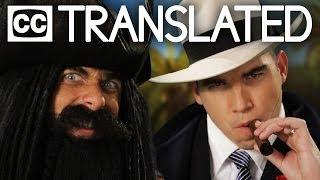 [TRANSLATED] Blackbeard vs Al Capone. Epic Rap Battles of History. [CC]