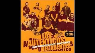 Los Autenticos Decadentes - Diosa.  Audio 10