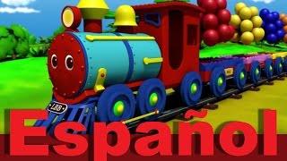 El tren de colores | Canciones infantiles | LittleBabyBum