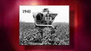 Old Red Cotton Picker ASABE Landmark No 10