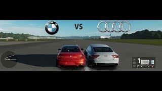 Forza Motorsport 7 BMW M6 vs Audi RS 7 (Drag Race)