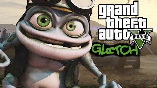 GTA Online Glitches - Crazy Frog (Invisible Motorcycle)