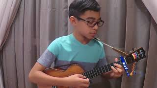 Evan's Ukulele - Perfect by Ed Sheeran (Cover) Tabs and Scores in the description