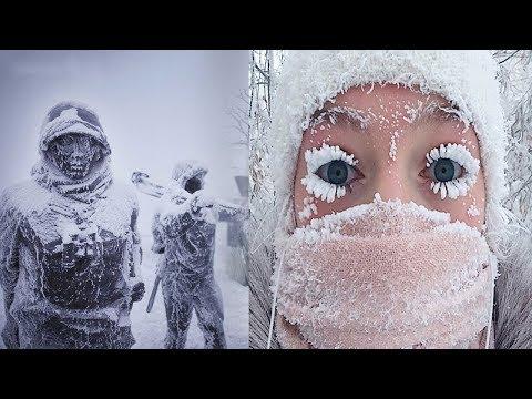 Cele mai friguroase locuri din lume