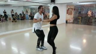 Samuel Paula e Carolina Guimarães - Demo workshop de bachata