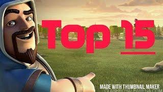 Top 15 Intros De Clash Royale