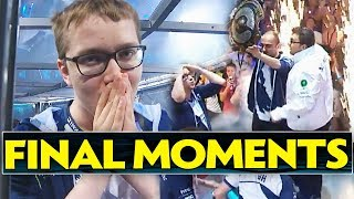TI7 Champions Team Liquid FINAL MOMENTS on Main Stage [LIVE] - Dota 2