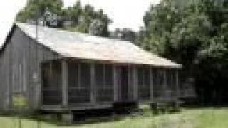 Original Slave huts on an old Plantation in Louisiana.