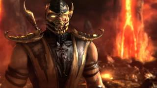 Mortal Kombat 9  - skrillex reptile video 2013