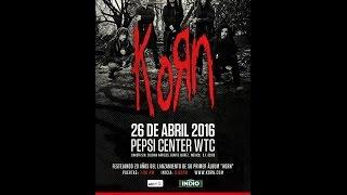korn - México 2016