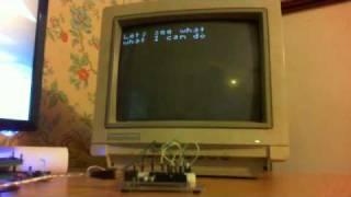 Arduino TVout library Demo