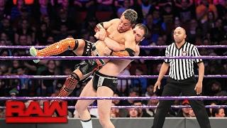 Akira Tozawa debuta en Monday Night Raw