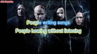 Sound of Silence - Disturbed (karaoke version)