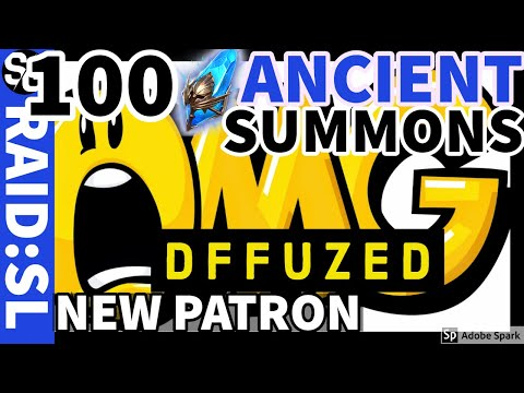 [RAID SHADOW LEGENDS] 100 ANCIENT SUMMONS - NEW PATRON