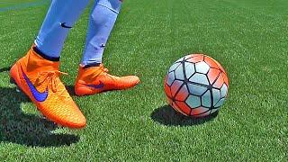Learn Amazing Football Skills Tutorial ★ Ronaldinho Flick Up