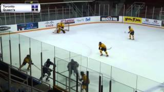 W-Hockey vs Queen's 1/10/2015