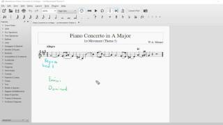 Theme 5 - Mvt. 1 ¦ Mozart Piano Concerto in A Major ¦ Set Works ¦ Leaving Cert Music Videos