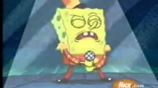 bob esponja cantando la letra original de dragon ball rap