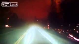 California Forest fire: Highway to hell (AC/DC)
