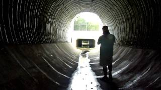Storm drain meditation/Native Flute