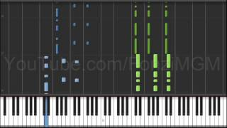 "[Dragon Ball Super OP 1] ""Chouzetsu☆Dynamic!"" (Synthesia Piano Tutorial) [w/ Free MIDI + Sheets DL]"