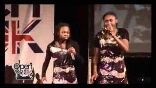 Fab Sisters (Open Mic) Then He Kissed Me Music Video on MUZU TV. Open Mic Music Videos.wmv