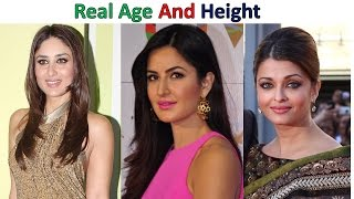 Real Age of Bollwood Actress 2017