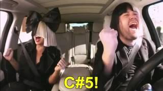 Sia Slays Her Carpool Kareoke! - Vocal Showcase
