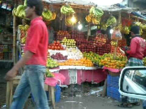 roadside market Bashundara, Dhaka Bangladesh