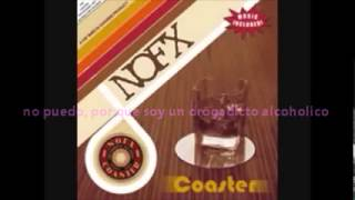 nofx i am an alcoholic sub español