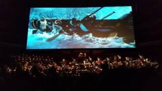 Titanic Live - Royal Albert Hall - Grand staircase destruction
