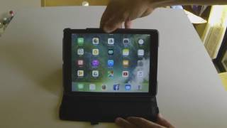 New IPad 9.7 inch 2017 case review