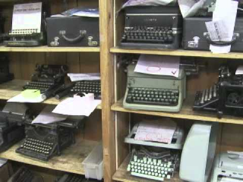 Le retour de la machine à écrire ?