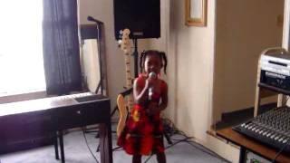 Kaylah Singing I love my Family.MPG