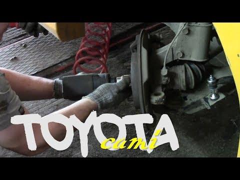 Toyota Cami 2002 J103 1.3 - замена подшипника ступицы переднего