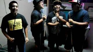 "Pool Stick Men cover of ""Uptown Girl"""