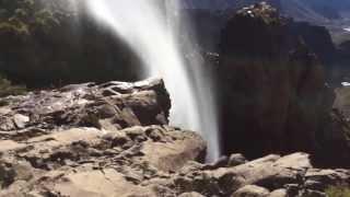 Cascada magica en Chile