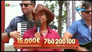 """Cantor ZÉ AMARO """"Namoro no escuro"""" em S. Torcato, Guimarães - (RTP) Informações para Espetáculos"""