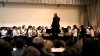 "Abraham Lincoln 6th Grade Varsity Band plays ""Tuba In Cuba"" Tuba Solo by Jonathan Smith"