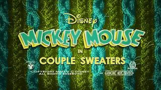 Couple Sweaters | A Mickey Mouse Cartoon | Disney Shorts