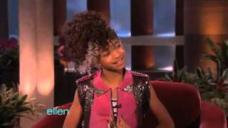Willow Smith's Interview with Ellen