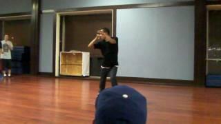 shaun evaristo's choreo to sure thing