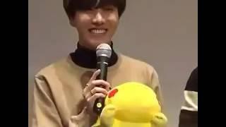 Hoseok saying Pikachu *-*