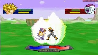 DBZ: The Legend PS1 -SP Mode 7- (SS Future Trunks) vs (Frieza) HD