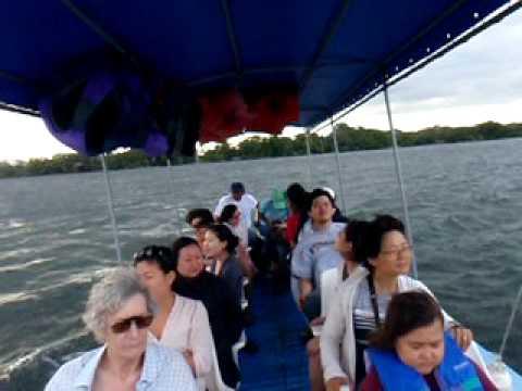 Singing on Lake Nicaragua