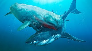 6 Biggest Megalodon Enemies Ever Existed