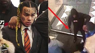6ix9ine On Why He Loves Being Hated, Rolling With Crips And Bloods & Why He's The Hottest width=