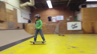 New Years Skate Clip - Cainan G 6 years old